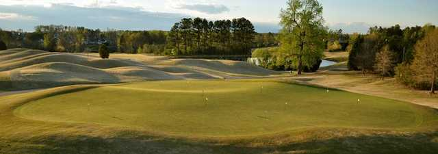 River Ridge GC: putting green