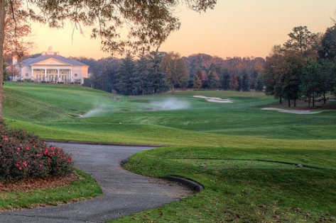 Quail Hollow Country Club in Charlotte