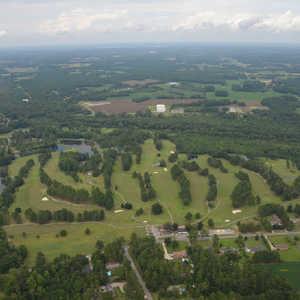 Fairmont GC: Aerial view