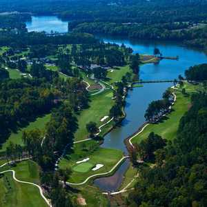 The Club at Irish Creek: Aerial view