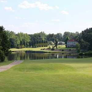 Greensboro National GC: #18 Lake