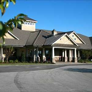 Crow Creek GC: clubhouse