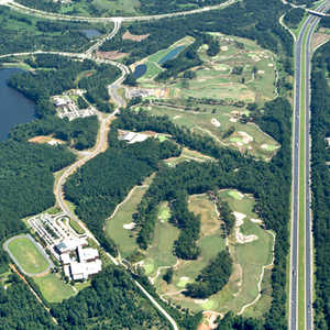 Lonnie Poole GC: aerial view