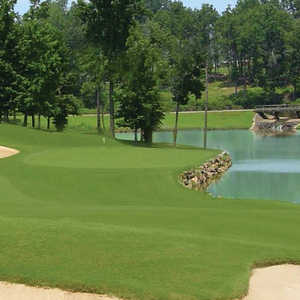 Highland Creek GC: #18