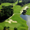 Aerial view of the no. 9 on the Ibis nine at Carolina National