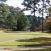 A sunny day view from Wendell Country Club.