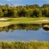 A view over the water from Farmstead Golf Links.