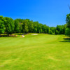 A view of a fairway at Salem Glen Country Club.
