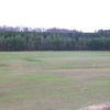 A view of the driving range at Uwharrie Golf Club