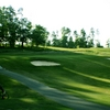 A view of the 17th hole at Olde Homeplace Golf Club