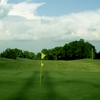 A view of the 18th green at Olde Homeplace Golf Club