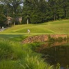 Putting by the lake at Governors Club
