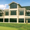 A view of the clubhouse at Country Club of Asheville
