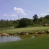 A view of a green at Renaissance Park Golf Course