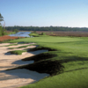 A view of hole #8 at Rivers Edge Golf Course