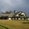 A view of the clubhouse at Cedarbrook Country Club