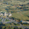 Aerial view from Cedarwood Country Club