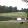 A view from a tee at Twin Lakes Golf Course