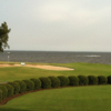 A view of a hole with water in background from Sound Golf Links at Albemarle Plantation.
