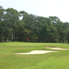 A view of a green at Oak Island Golf Club