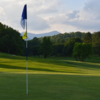 A view of hole #14 at Black Mountain Golf Course