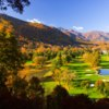 A fall view from Maggie Valley Resort & Country Club