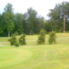 A view of a hole at Orchard Trace Golf Club