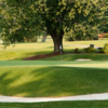 A view of a hole at Hendersonville Country Club