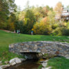 A view over a bridge at Champion Hills Golf Club