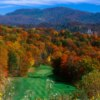 A splendid fall view from Laurel Ridge Country Club