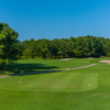 A view of a tee at Pointe Golf Club