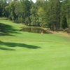 A view of green #11 at Reynolds Course from Tanglewood Golf Club