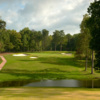 A view of green #3 at Farm Course from Greensboro Country Club