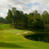 A view of hole #8 at Farm Course from Greensboro Country Club