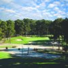 View of the 7th hole from the Byrd course at Sea Trail Golf Resort and Convention Center