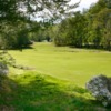 A view of fairway #2 at Tryon Country Club