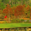 A view of a green from Marsh at Country Club of Landfall Nicklaus Course