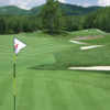 A view from a green at Lake Toxaway Country Club