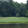 A view over the water of hole #2 at River Golf & Country Club