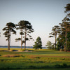 A view of a green at Morehead City Country Club