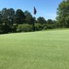 A view of a green at Badin Inn Golf Resort & Club