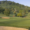 View of the 3rd hole from the Blue Ridge course at The Waynesville Inn Golf Resort & Spa