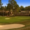 A view of a green at Pine Needles Resort & Golf Club.