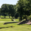 A sunny day view of from a tee at Dye Course from Sedgefield Country Club.