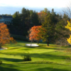 A fall day view from a tee at Blowing Rock Country Club.