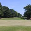 A view of a hole at Pine Hollow Golf Course.