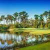View of a green at Kilmarlic Golf Club.
