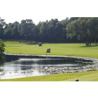 No. 3 at Beau Rivage Golf & Resort is the first of three straight holes that demand a tee shot over water.